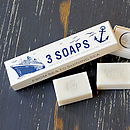 Seaside Trio Of Soaps
