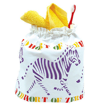 Animals Sponge Bag