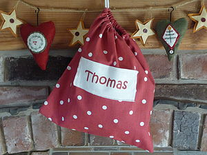 Christmas Personalised Gift Bag - gift bags & boxes