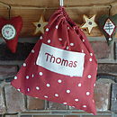 Christmas Personalised Gift Bag