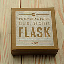 Packaging for Hip Flask
