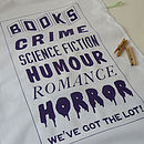 Book Lover Tea Towel