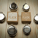 Full range of Hip Flasks