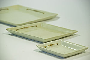 Natural Soapstone Square Plate - tableware