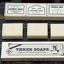 Numbers toothbrushes with Apothecary soap trio