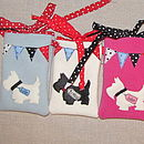 Blue, Ivory & Pink Phone Cases