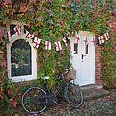 Vintage England Flag Bunting