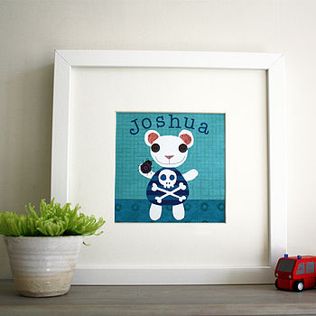 Bear and Bug Print