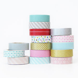 Washi Paper Tape - diy wedding stationery
