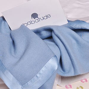 100% Pure Cashmere Luxury Baby Blankets - baby care