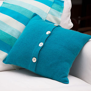 Pure 100% Cashmere Cushion Cover - bedroom