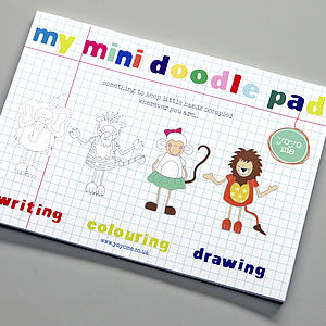 Mini Doodle Pad - children's room accessories