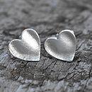 Fingerprint Heart Wedding Cufflinks