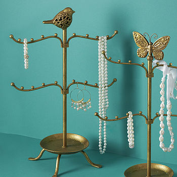 Bird Or Butterfly Jewellery Stand
