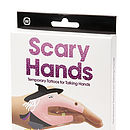 Scary Halloween Hand Temporary Tattoos