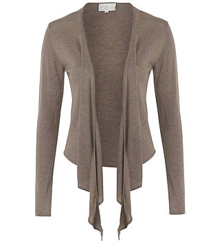 Superfine Cashmere Wrap Cardy