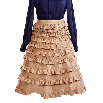 Erin Ruffle Skirt