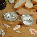 Roman Shell Bowl And Spoon Set, Anniversary Gifts