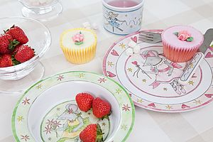 Mousie Ballerina Melamine Tableware Giftset - kitchen
