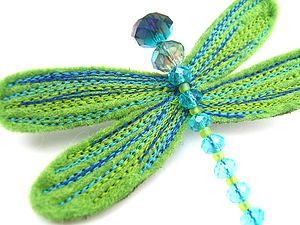 Dragonfly Brooch - pins & brooches