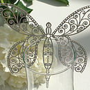 Laser Cut Butterfly Mobile Decorations