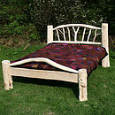 White Driftwood Branch Bed