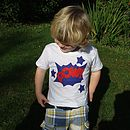 Superhero Applique T Shirt