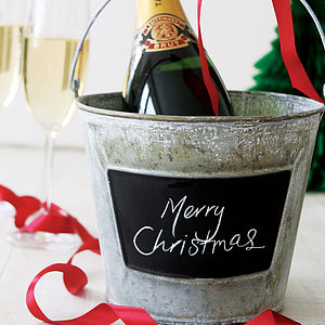 Blackboard Bucket - last-minute christmas gifts for him