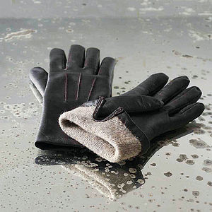 Tilly. Women's Cashmere Lined Leather Gloves