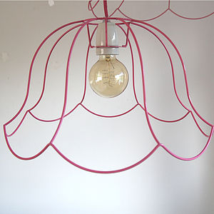 'Ghost' Chandelier Lampshade - living room