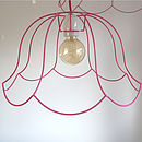 'Ghost' Chandelier Lampshade