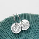 Baby Silver Snowflake Earrings