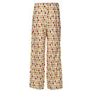 Leaf Organic Trouser - Crimson/Gold Rear View