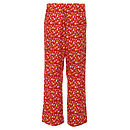 Midnight Garden Pyjama Trouser - Ruby Rear View