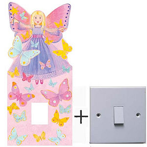 Fairy Light Switch Cover - lighting