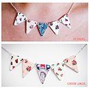 Bunting Necklace Gift Set