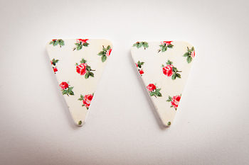 Bunting Earrings