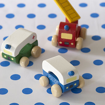 Wooden Toy Car Sets