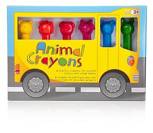 Animal Crayons Set - stationery