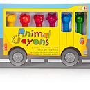 Animal Crayons Set