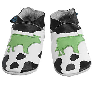 Handmade Cow Soft Leather Baby Shoes - clothing