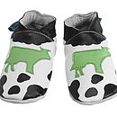 Handmade Cow Soft Leather Baby Shoes
