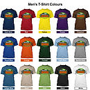 Grandad T-Shirt Colour Options