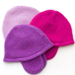Pure Cashmere Ear Muff Hat