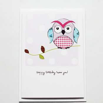 Happy Birthday Twoo You! Card