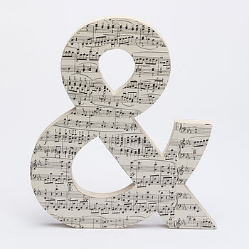 Vintage Music Ampersand