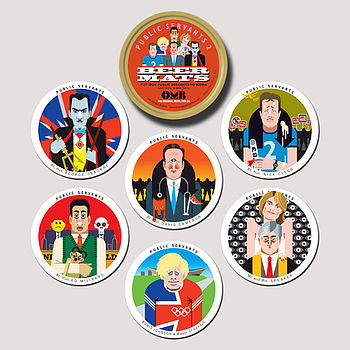 Public Servants Coasters Two