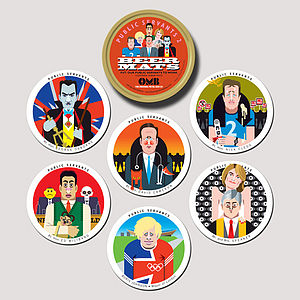 Public Servants Coasters Two - tableware