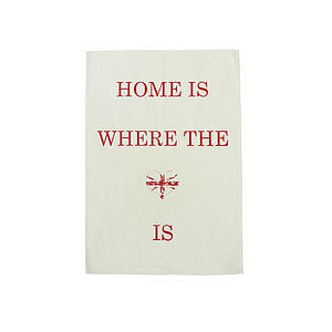 Home Is Where The Heart Is Tea Towel - kitchen accessories