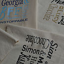 Personalised Cotton Shopper